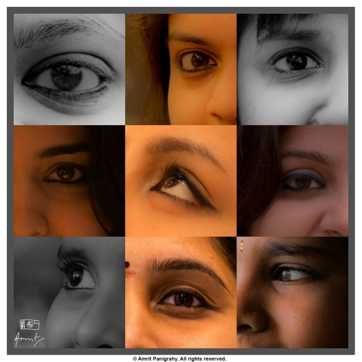 This was my first ever project, for International Women's Day. The idea was to communicate the importance of women's point of view through a series of images.