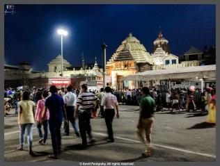 Street outside the Jagannath temple in Puri, Odisha, India. It is called Bada Danda in Odia, literally translating into Grand Road.